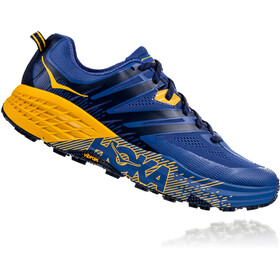 Hoka One One Speedgoat 3 Juoksukengät Miehet, galaxy blue/old gold
